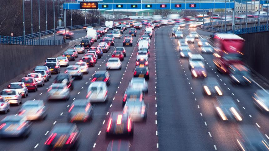 UK Auto Traffic